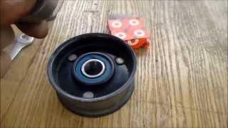 Ремонт ролика натяжителя ремня генератора(, 2015-05-13T20:53:35.000Z)