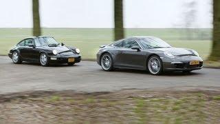 Oud en nieuw - Porsche 911 Carrera 4 (English available)