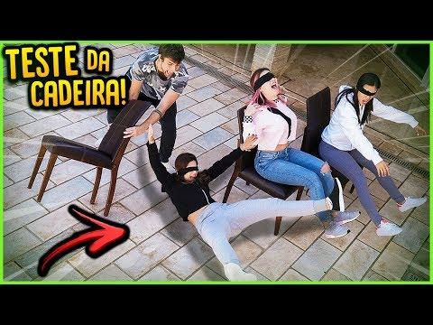 TESTE DA CADEIRA COM AS MENINAS DA CASA!! ( QUEM CAIU? ) [ REZENDE EVIL ]