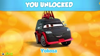 Yokoza Unlocked - New Japanese Racers in Tokyo | Disney Pixar Cars Fast as Lightning McQueen