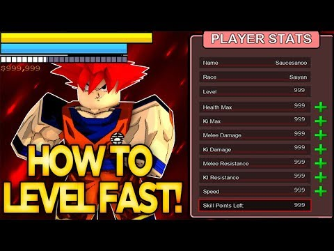 HOW TO LEVEL UP FAST! GET ZENI FAST!   Dragon Ball Z Final Stand   ROBLOX