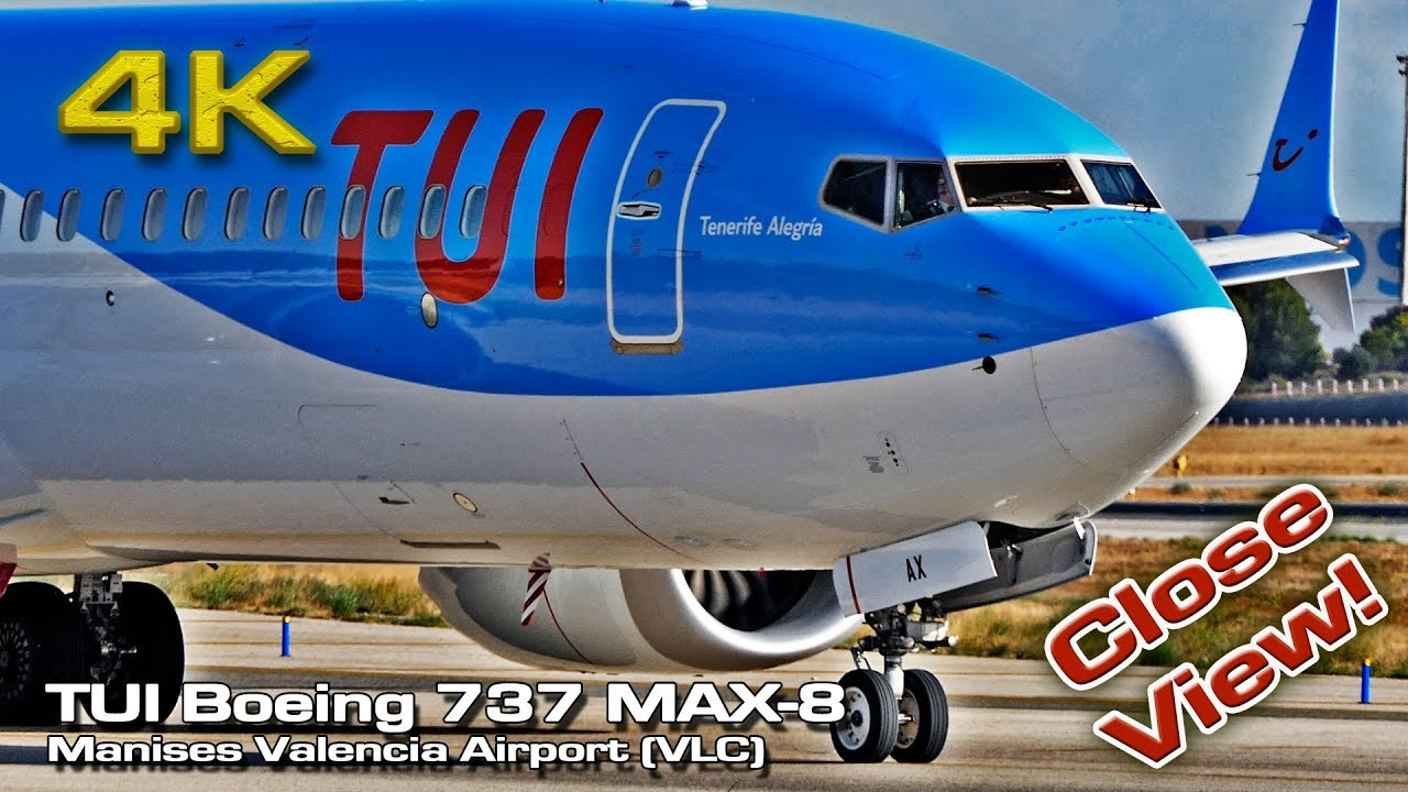 Boeing 737 MAX-8 from TUI Airways (VLC) - Airline Pilot