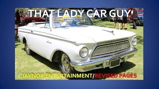 1962 AMC Rambler American Deluxe Convertible - Cool Convertible Car S2E15 - That Lady Car Guy