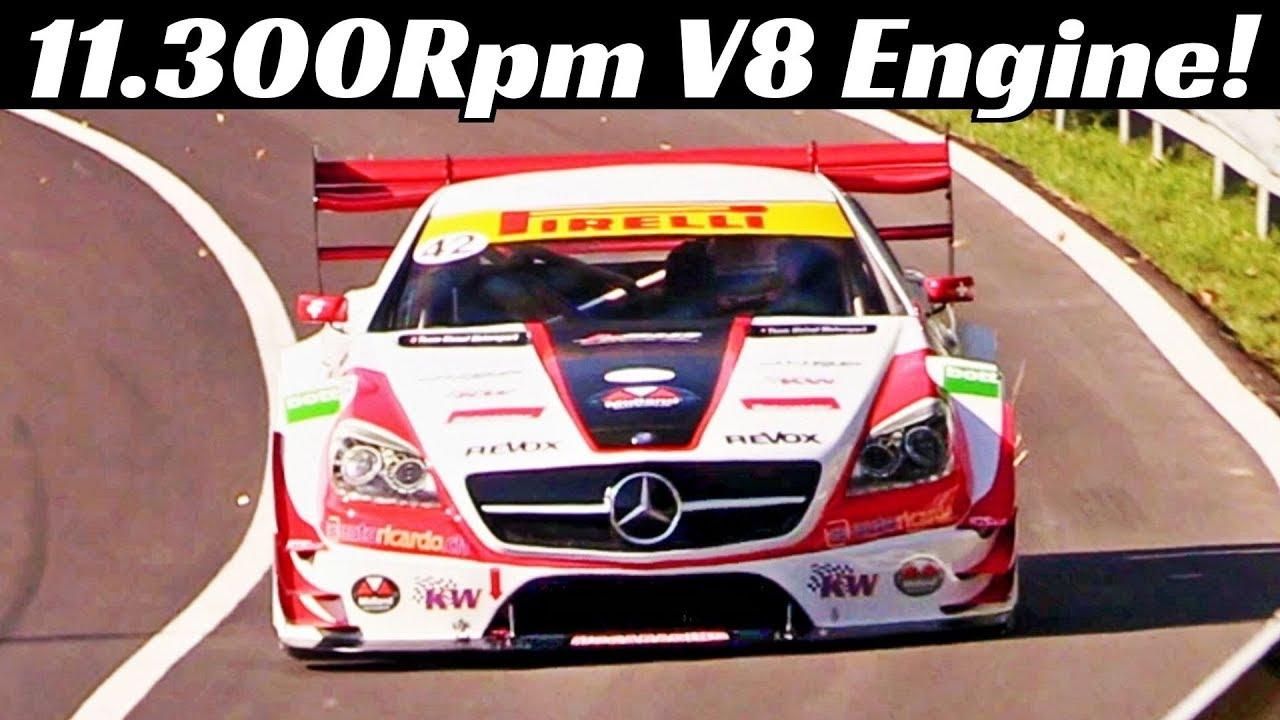 630Hp/11.300Rpm Mercedes-Carlsson SLK340 powered by Judd V8 Engine, Reto Meisel's Hillclimb Mon
