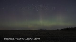 Amazing Auroras and Shooting Stars from Saint Cloud, MN 11/4/2015