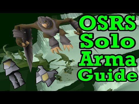 OSRS Solo Armadyl Guide | Old School Runescape How I Fight Arma Solo