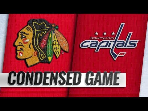 11/21/18 Condensed Game: Blackhawks @ Capitals