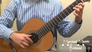 Duncan Classical Guitar Book 1 - Page 34 - The Streets of Laredo (Solo)