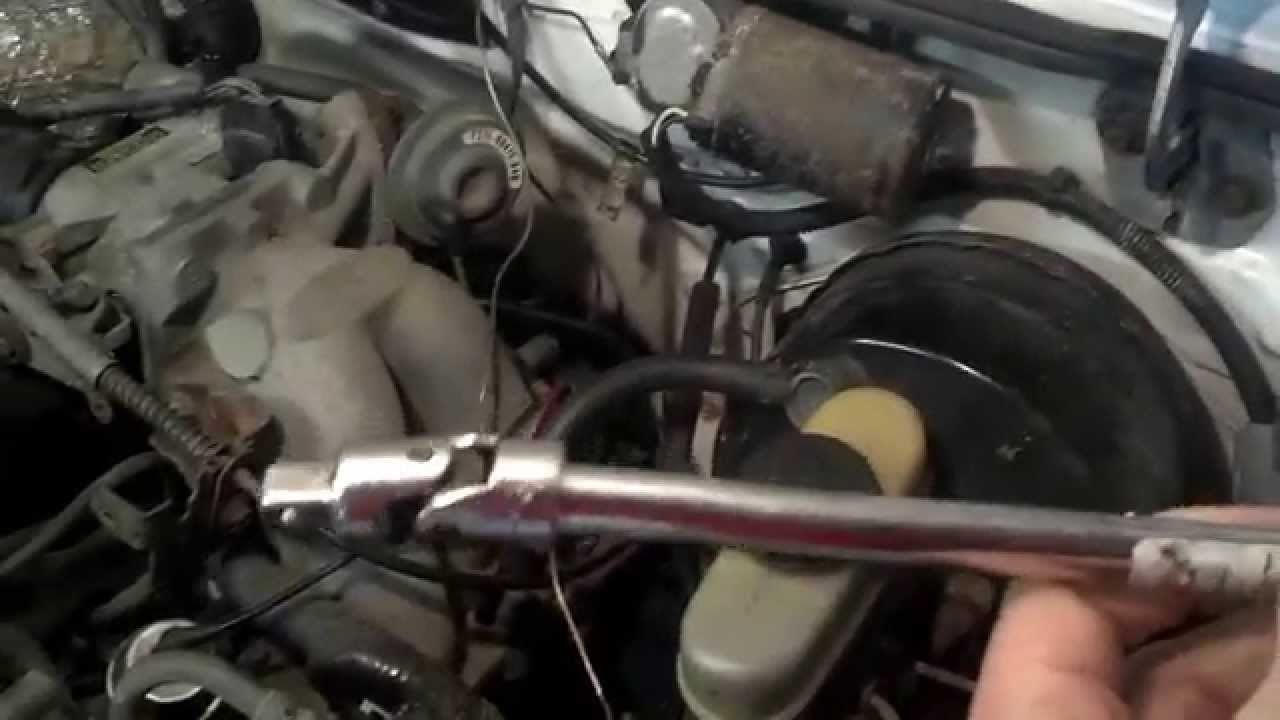1994 ford ranger oil pressure switch location and replace [ 1280 x 720 Pixel ]