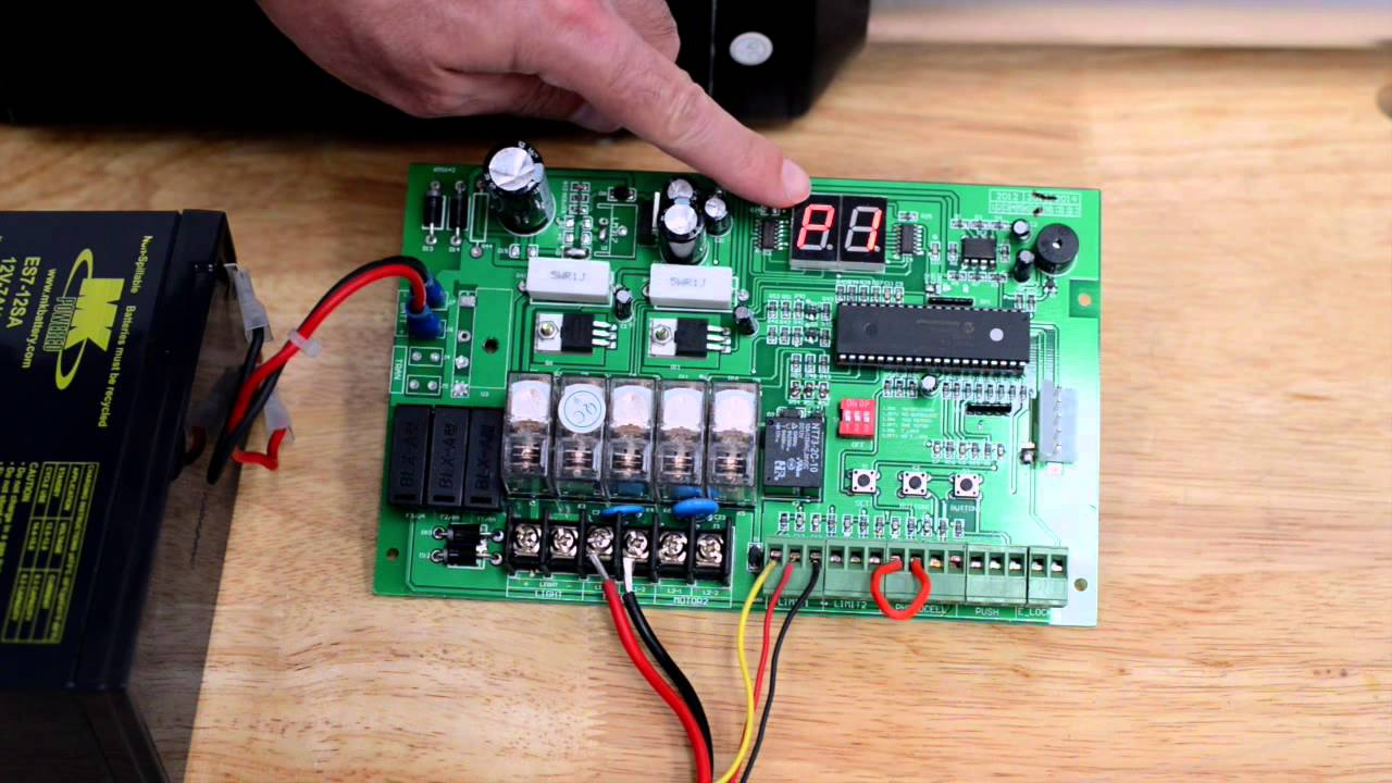 Estate Swing E S H Amp E S D Control Board Overview