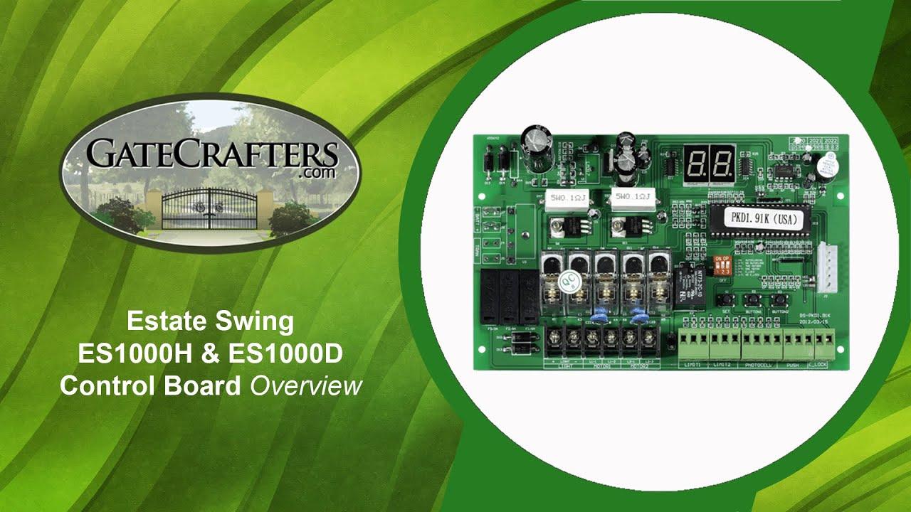 Estate Swing E S H Amp E S D Control Board Overview