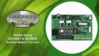 Estate Swing E-s1000h & E-s1000d Control Board Overview (gatecrafters.com)
