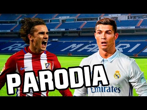 Thumbnail: Canción Real Madrid vs Atletico Madrid 1-1 (Parodia Shakira - Me Enamoré) 2017