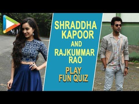 BLOCKBUSTER Pankaj Tripathi QUIZ with Rajkummar Rao & Shraddha Kapoor | Stree