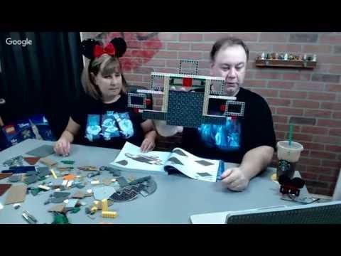 BrickNerd LiveBuild - LEGO Disney Castle - Part 1