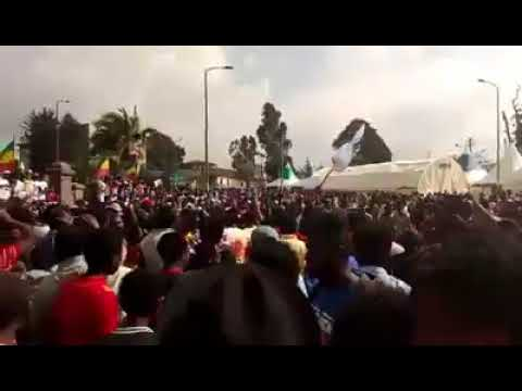 Adwa victory Celebration in Addis Ababa