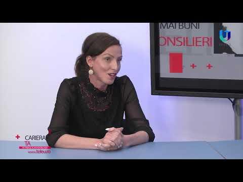 TeleU:  Cariera Ta - Cristina Drăgan