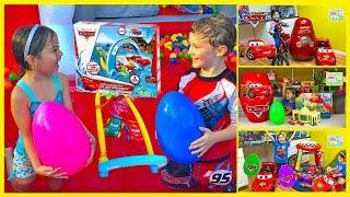 Huge Disney Cars Lightning McQueen Toys Compilation!