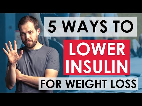 5 Ways to Lower Insulin Levels (naturally) for Weight Loss