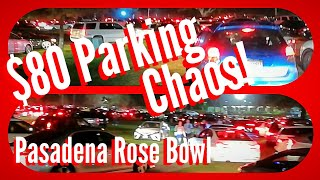 💰 $80 Preferred Parking! $40 Regular! What to expect @ the Rose Bowl parking lot! Pasadena CA