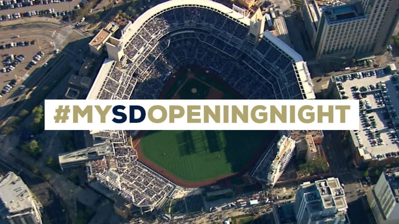 The 2014 Padres Home Opener, as seen by the fans