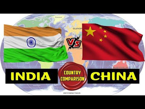 India VS China | Country Comparison | Placify 2019