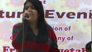 """Parde Mein Rehne Do"" timeless Asha Number sung by Aamrapali Mahajan."