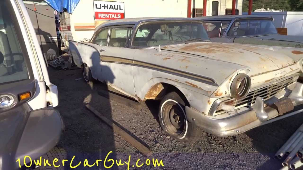 Ford Fairlane Galaxie 500 Skyliner Crown Victoria Coupes ...