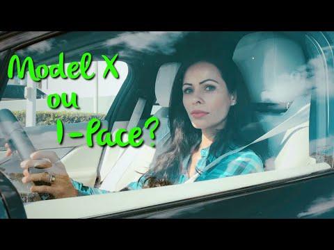 Tesla MODEL X ou Jaguar I-PACE?