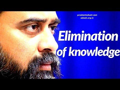Acharya Prashant on Ramana Maharshi: The elimination of false knowledge