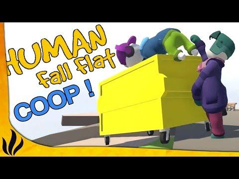 CE JEU EST BEAUCOUP TROP DRLE EN COOP ! (Human: Fall Flat)