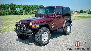 Davis AutoSports 2004 Jeep Wrangler TJ / Lifted / BFGs / Low Miles