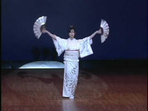 舞踊道07「夕鶴の舞」