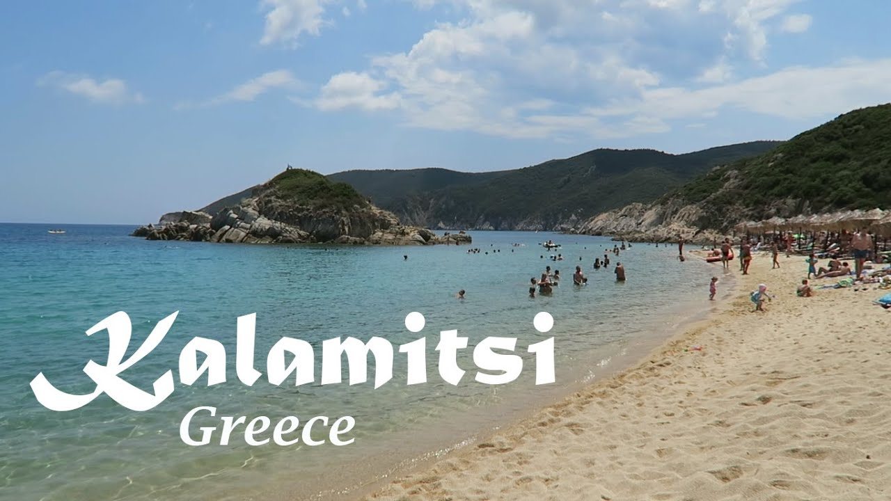 Best Beaches In Sithonia Greece Day 5 Kalamitsi Beach