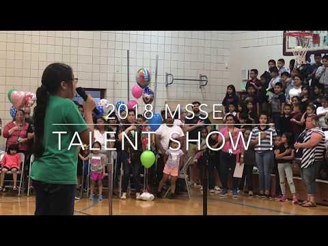 MSSE 2018 Talent Show