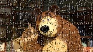 マッサとクマのパズルゲーム子供のための