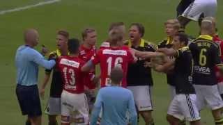 AIK - Kalmar FF (3-0). 2014-07-12