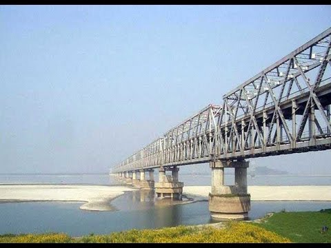 MUNGER GANGA BRIDGE (BEST VIDEO)