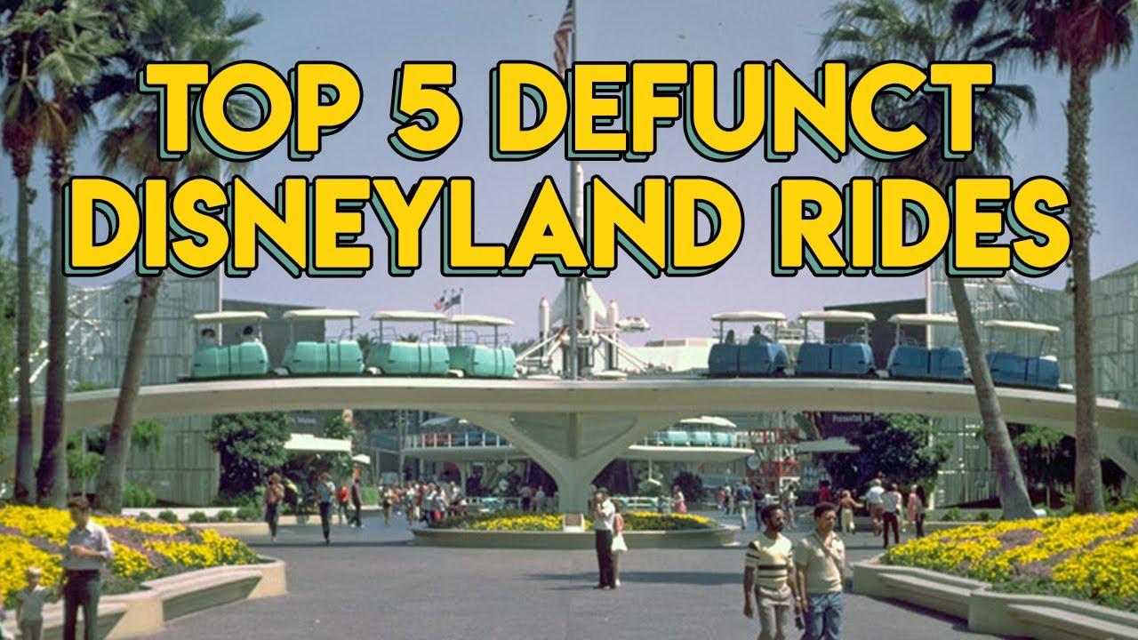 The Best LOST Disneyland Rides