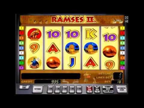 игровой автомат рамзес