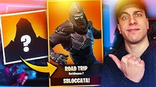 "I UNLOCKED ROAD TRIP!! The Skin ""LEGENDYRIA""! Fortnite Battle Royale!"