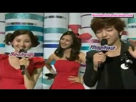 Seohyun and Yonghwa unseen clips English Subbed!