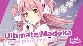 Ultimate Madoka speedpaint process/ Magia Record / MadoMagi/ マギレコ/まどマギ