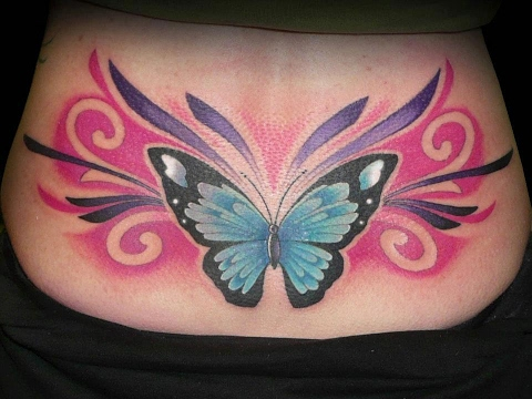 Tatuajes En La Espalda Baja Mujeres Tatuajes Para Hicas En La
