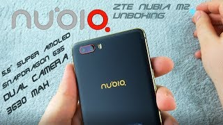ZTE Nubia M2 [UNBOXING] - 4+64GB, Super AMOLED, big battery - high quality