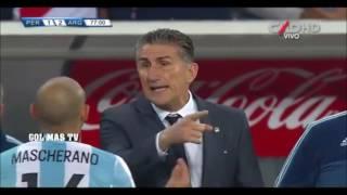 Peru vs Argentina 2-2 : NARRACION TANQUE ARIAS -  GONZALO NUÑEZ : PENDEJO GUERRERO!!!