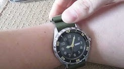 How To Install a NATO strap on a Watch