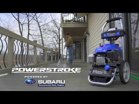 how-to:-properly-use-a-powerstroke-3100-psi-pressure-washer-subaru-electric-start-2.4-gpm-ea190v