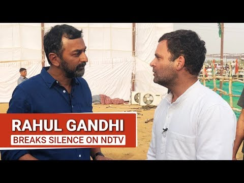 NDTV Exclusive: Rahul Gandhi's First TV Interview This Election Season
