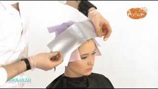 техника окрашивания волос, мастер-класс